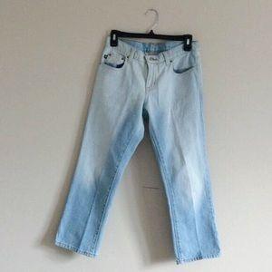 Vintage Ralph Lauren crop jeans